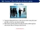 Bài giảng Chương 7: Đầu tư dài hạn của doanh nghiệp