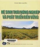 Giáo trình Hệ sinh thái nông nghiệp và phát triển bền vững: Phần 2
