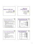 Bài giảng Nguyên lý hệ điều hành (Bài giảng tuần 7) - Nguyễn Hải Châu