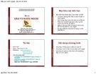 Bài giảng môn Đầu tư nước ngoài - Phan Thị Vân