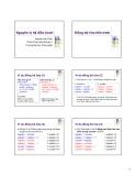 Bài giảng Nguyên lý hệ điều hành (Bài giảng tuần 4) - Nguyễn Hải Châu