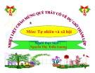 Bài giảng Tự nhiên và xã hội: Bài 22 - Cây rau