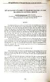Kết quản ban đầu về nghiên cứu thành phần hóa học cây sinh địa (Rehmannia glutinosa libosch)