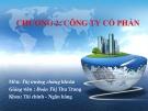 Bài giảng Thị trường chứng khoán: Chương 2 - Đoàn Thị Thu Trang