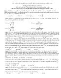 Bài toán cực trị điện xoay chiều  khó (Dành cho học sinh đạt điểm 9+10)