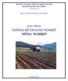 Giáo trình Thống kê doanh nghiệp nông nghiệp: Phần 1