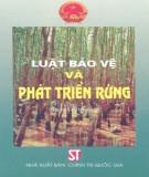 Ebook Luật bảo vệ và phát triển rừng: Phần 1
