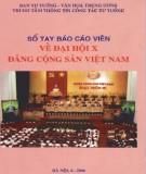 Ebook Sổ tay báo cáo viên về Đại hội X Đảng Cộng sản Việt Nam: Phần 1