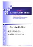 Bài giảng Nhập môn lập trình: Cấu trúc điều khiển - Trần Phước Tuấn