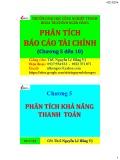 Bài giảng Phân tích báo cáo tài chính: Chương 5 đến 10 - ThS. Nguyễn Lê Hồng Vỹ