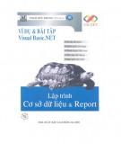 Lập trình cơ sở dữ liệu & Report - Ví dụ và Bài tập Visual Basic.NET: Phần 2