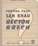 Ebook Phương pháp sân khấu Bectôn Brech: Phần 2