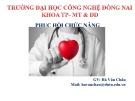 Bài 7: Phục hồi chức năng bệnh nhân bỏng - Hà Văn Châu