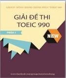 Hướng dẫn Giải đề thi Toiec 990: Tập 1