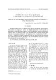 Ảnh hưởng của B, Mo, Zn  đến các chỉ tiêu sinh lý và năng suất lạc (Arachis hypogaea l.) ở Thừa Thiên Huế