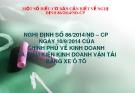 Bài giảng Nghị định số 86/2014/NĐ–CP ngày 10/9/2014 của Chính phủ về kinh doanh và điều kiện kinh doanh vận tải bằng xe ôtô