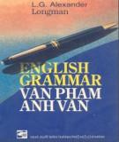 Ebook English grammar - Văn phạm tiếng Anh: Phần 1