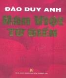 Từ điển Hán Việt: Phần 1