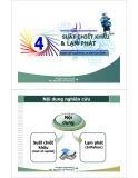 Bài giảng Dự án đầu tư: Chương 4 - ThS. Nguyễn Tấn Phong