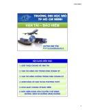 Bài giảng Vận tải - Bảo hiểm: Chương 3 - Trần Kim Tôn