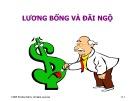 Bài giảng Chương 8: Lương bổng và đãi ngộ