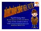 Bài giảng Tổ chức hành chính nhà nước - Nguyễn Quang Minh