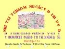Bài giảng Môn địa lí 9