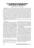 Nghiên cứu chức năng và dịch vụ của rừng ngập mặn trồng xã Đại Hợp, huyện Kiến Thụy, thành phố Hải Phòng