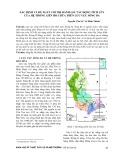 Xác định và đề xuất chỉ thị đánh giá tác động tích lũy của hệ thống liên hồ chứa trên lưu vực sông Ba