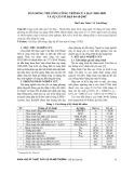Dẫn dòng thi công công trình Cửa Đạt 2005-2009 và sự cố vỡ đập 04-10-2007