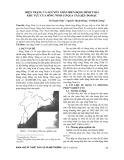 Hiện trạng và nguyên nhân biến động hình thái khu vực cửa sông Ninh Cơ qua tài liệu đo đạc
