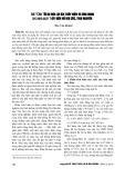 Bài toán tối ưu hóa lợi ích thủy điện và ứng dụng cho nhà máy thủy điện hồ Núi Cốc, Thái Nguyên