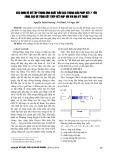 Xác định hệ số tập trung ứng suất đầu cọc trong giải pháp xử lý nền bằng cọc bê tông cốt thép kết hợp với vải địa kỹ thuật