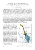 Ảnh hưởng của các công trình trên các cửa sông lớn đến xâm nhập mặn vào hệ thống sông đồng bằng sông Cửu Long