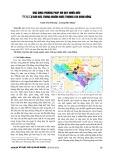 Ứng dụng phương pháp hồi quy nhiều biến trong dự báo đặc trưng nguồn nước thượng lưu sông Hồng