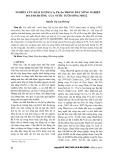 Nghiên cứu hàm lượng Cu, Pb, Zn trong đất nông nghiệp do ảnh hưởng của nước tưới sông Nhuệ
