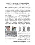 Nghiên cứu ứng xử chịu uốn của dầm bê tông cốt thép được tăng cường bằng bê tông cốt lưới dệt
