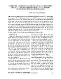 Nghiên cứu ảnh hưởng của biến đổi khí hậu và phát triển kinh tế - xã hội đến thiếu hụt nước cấp của hồ chứa Yên Mỹ, huyện Tĩnh Gia, tỉnh Thanh Hóa