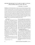 Diễn biến hình thái học của cửa sông Cổ Chiên và Cung Hầu, thuộc hệ thống sông Cửu Long, Việt Nam