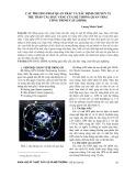 Các phương pháp quan trắc và xác định chuyển vị trụ tháp cầu dây văng của hệ thống quan trắc công trình cầu (SHMS)
