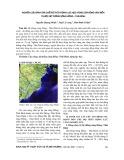Nghiên cứu đánh giá chế độ thủy động lực học vùng cửa sông ven biển thuộc hệ thống sông Hồng – Thái Bình