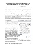 Environmental behavior of unsaturated zone in an island under tidal effect and climatic condition