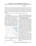 Nghiên cứu vận hành hệ thống hồ chứa lớn trên lưu vực sông Vu Gia - Thu Bồn phục vụ phòng chống lũ