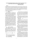 Xác định thời điểm tính toán trong giải bài toán kháng chấn bằng phương pháp phân tích lịch sử thời gian