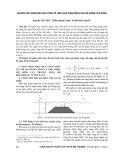Nghiên cứu bằng mô hình toán về hiệu quả giảm sóng của đê ngầm phá sóng