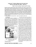 Đánh giá và dự báo hình thái xâm nhập mặn vùng hạ lưu sông Trà Khúc – Sông Vệ
