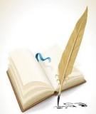 Bộ phân phối chương trình dạy thêm, học thêm: Năm học 2014-2015
