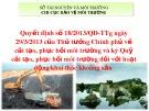 Bài giảng Quyết định số 18/2013/QĐ-TTg