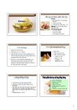 Bài giảng Thương phẩm học hàng thực phẩm: Phần 5 - TS. Đàm Sao Mai