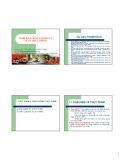 Bài giảng Đảm bảo chất lượng và Luật thực phẩm: Phần 1 - Nguyễn Huỳnh Đình Thuấn